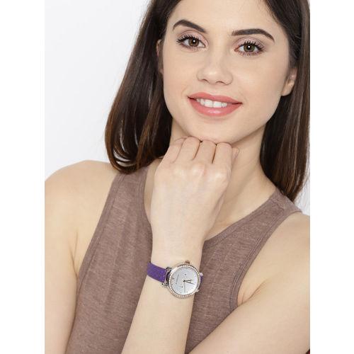 GIORDANO Women Silver-Toned Analogue Watch 2938-04