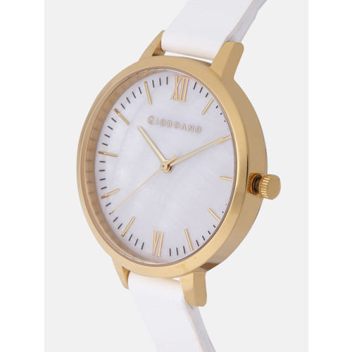 GIORDANO Women Off-White Analogue Watch 2878-02