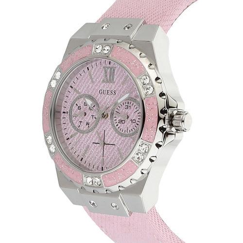 GUESS Women Pink Analogue Watch W1160L5