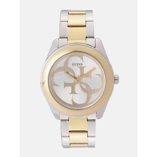 GUESS Women Silver-Toned Analogue Watch W1082L5_OR