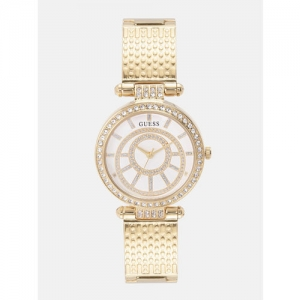 GUESS Women Off-White Analogue Watch W1008L2_OR