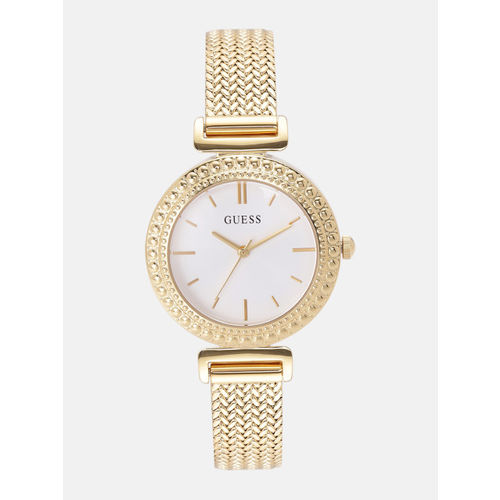 GUESS Women White Analogue Watch W1152L2_OR