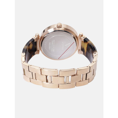 GUESS Women Rose Gold Analogue Watch W0638L8