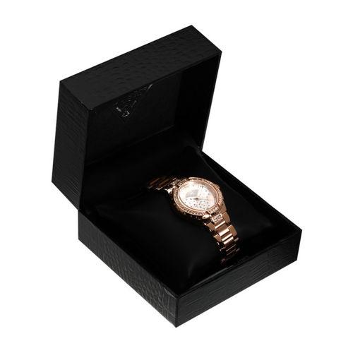 GUESS W0111l3 Golden/White Analog Watch