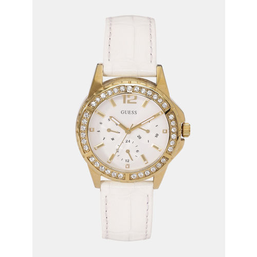 GUESS Women Off-White Multifunction Watch W0656L1_OR