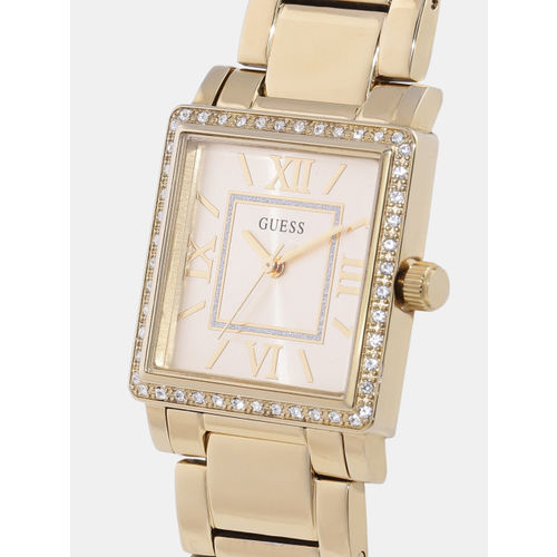 GUESS Women Gold-Toned Analogue Watch W0827L2_OR