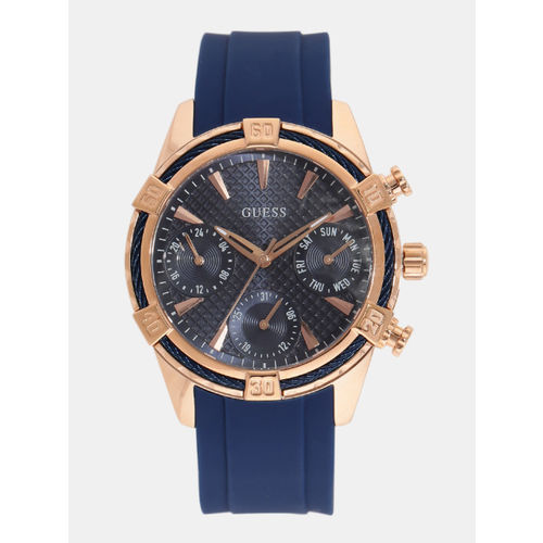 GUESS Women Navy Multifunction Watch W0562L3