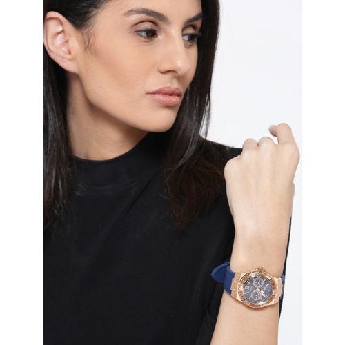 GUESS Women Blue Analogue Watch