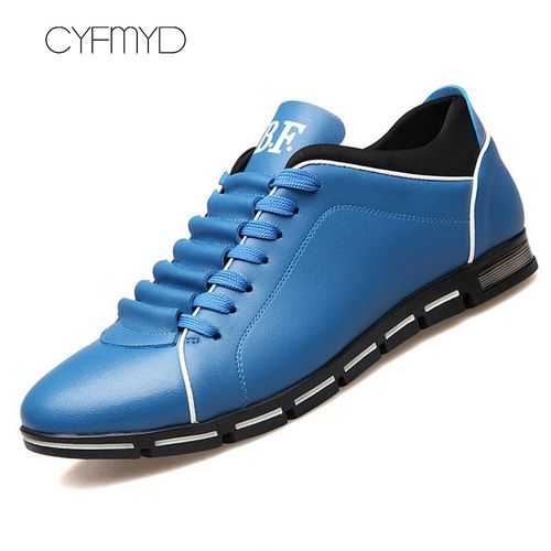 CYFMYD Superstar shoes men 2019 new arrival artificial leather shoes solid 5 colors rubber derby shoes man sneakers large size 39-48
