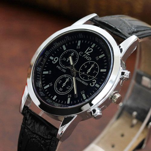 GAIETY 2019 relogio masculino watches men Fashion Sport Stainless Steel Case Leather Band watch Quartz Business Wristwatch reloj hombre