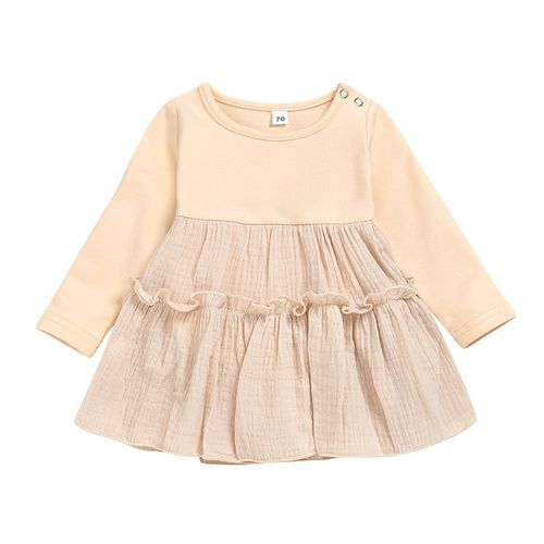 YIGA New Fashion Baby Girls Clothes Girls Dresses Kids Plaid Jacket Clothes Girls Ruffle Outfits Birthday Party Plaid Coat Tops+Dress