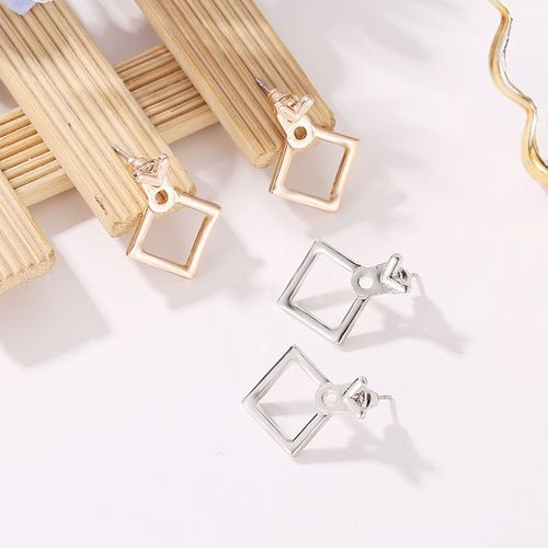 mling Fashion Jewelry Cute Triangle Dangle Earrings Ms. Square Earrings Unique Design Small Geometric Earrings Ms. Gift alentine's Day