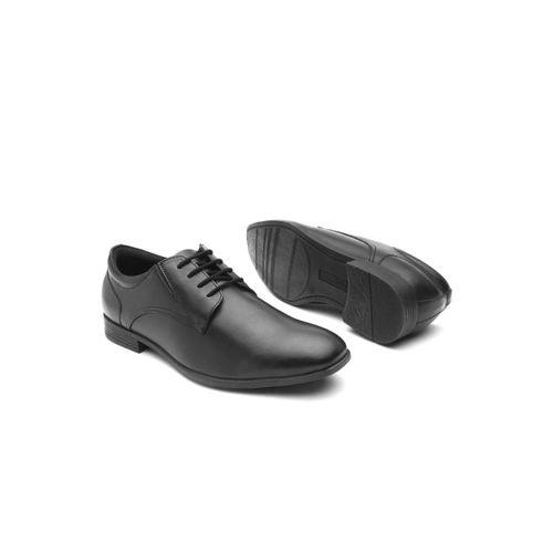 INVICTUS Men Black PU Foam Comfort Formal Derbys