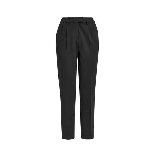 next Women Black Regular Fit Solid Formal Trousers
