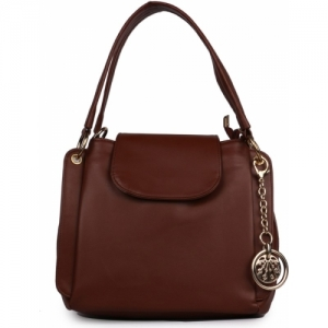 Leather Brown Shoulder Bag