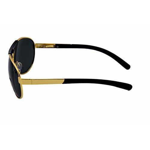 Silver Kartz Latest Green Lens Aviator Sunglasses for Men Women Girls Boys Unisex Stylish (sk067)