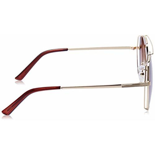 MTV Gradient Aviator Unisex Sunglasses - (B80-68 Brown|64|Brown Color Lens)