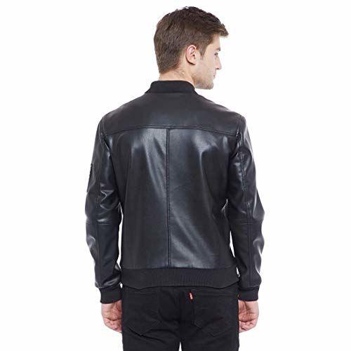 ROADIES BY JUSTANNED Men Bomber Moto Jacket