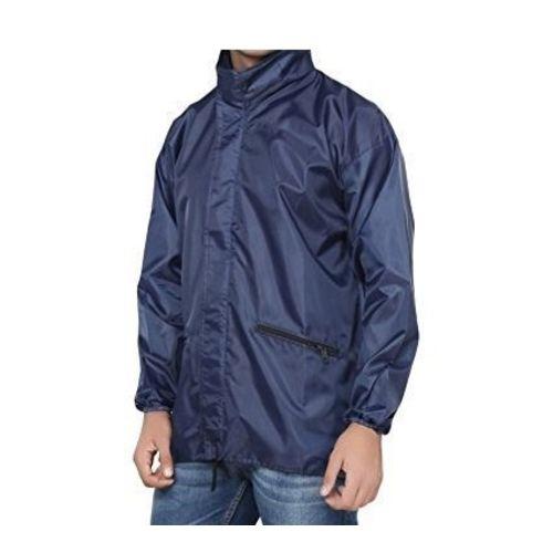 Banter Men's Navy Blue Windcheater with Hidden Collar Pocket for Cap