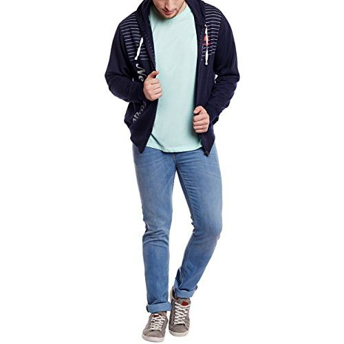 VIMAL Jonney Cotton Navy Blue Fullsleeves Sweatshirt for Men-SW_19_01-P