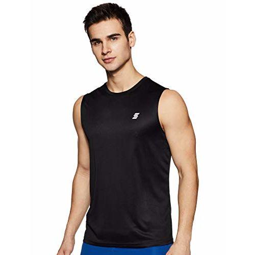 Amazon Brand - Symactive Men's Round Neck Sports T-Shirt