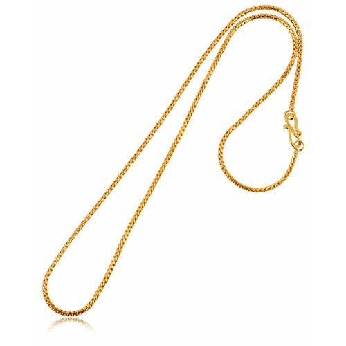 Buy Aanyacentric Golden Heavy And Long Gold Plated Statement