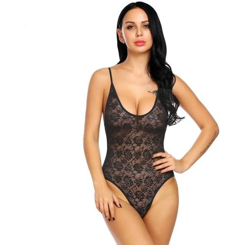 NEW BLUE EYES black net tady Embroidered Women Swimsuit