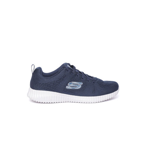 Skechers Men Navy Blue Elite Flex-Clear Leaf Sneakers