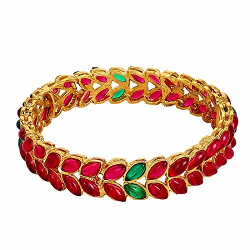 YouBella Bangles for Women Traditional Casual Party Bangles for Women and Girls