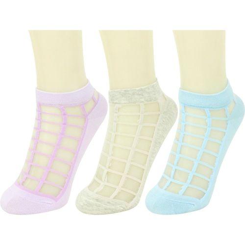 Neska Moda Women Solid Ankle Length(Pack of 3)