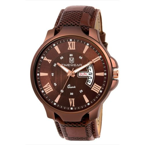 TIMEWEAR 203BDTG TIMEWEAR Day Date Series Analog Watch - For Men