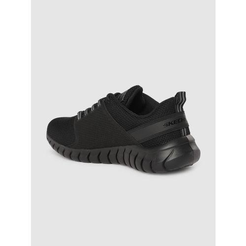 Skechers Men Black OVERHAUL PRIMBA Running Shoes