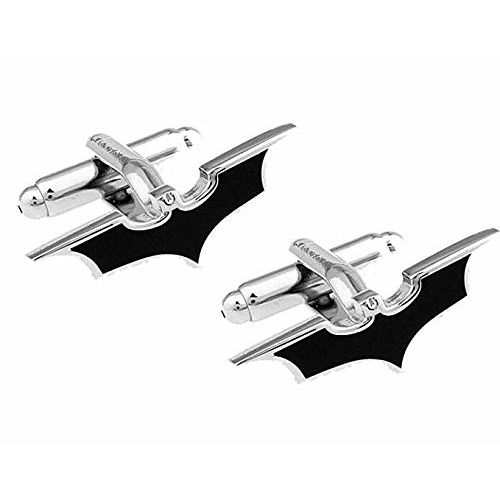 Yellow Chimes Superhero Batman Stainless Steel Cufflinks for Men and Boys