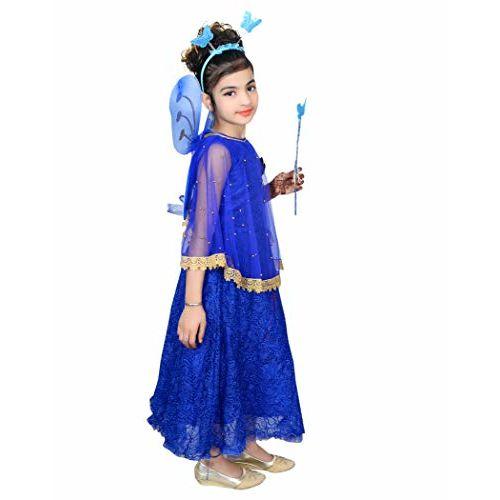 AHHAAAA Blended Baby Girls Angel Pari Dress/Christmas Gown