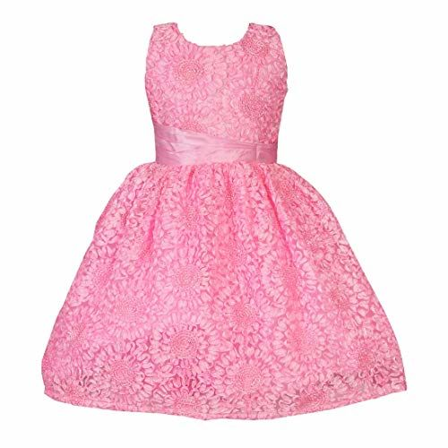 ANVI JEWELLERS Anvi Collection Girls Party Dress and Birthday Frock_Anvi 7443