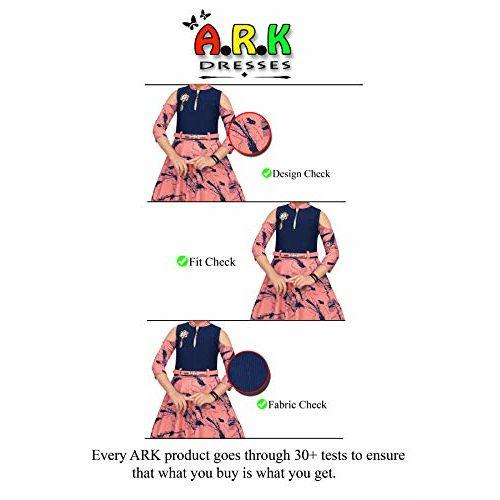 ARK DRESSES, Girls Full Length Gown Dress