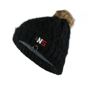 iSweven Woven, Solid Skull Woollen Winter Beanie Cap