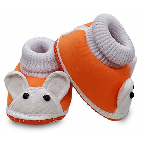 Tavish Dale 6-15 Months Baby Unisex Canvas Shoes with Thick Soft Anti-Slip Sole - Combo of 4