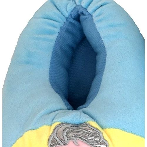 White Star All Baby-Boy's and Baby-Girl's Cartoon Characters Plush Slippers