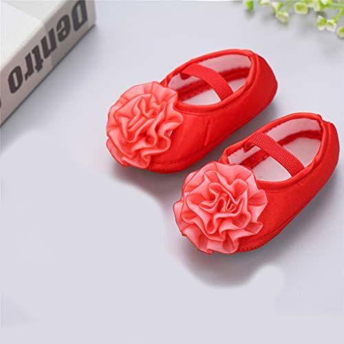 Bold N Elegant - Be Bold Inside & Elegant Outside Bold N Elegant Silk Finish Tissue Frill Flower Satin Baby Girl Birthday Moccasin Bootie Shoes Footwear for