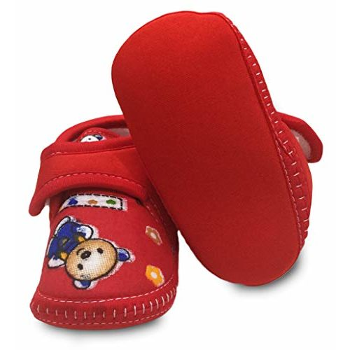 Tavish Candy Baby Boy's and Girl's Shoes with Anti-Slip Sole (Age 3-12 Month) - Combo of 4