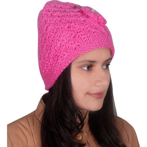 Modish Vogue Solid Woollen cap Cap