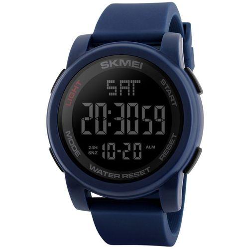 Skmei Gmarks -1257 Blue Sports Digital Watch - For Men & Women