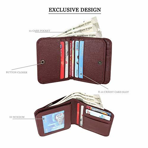 ZORO Mens Wallet, Purse for Men's, Card Wallet, Gents Purse Wallet 23R
