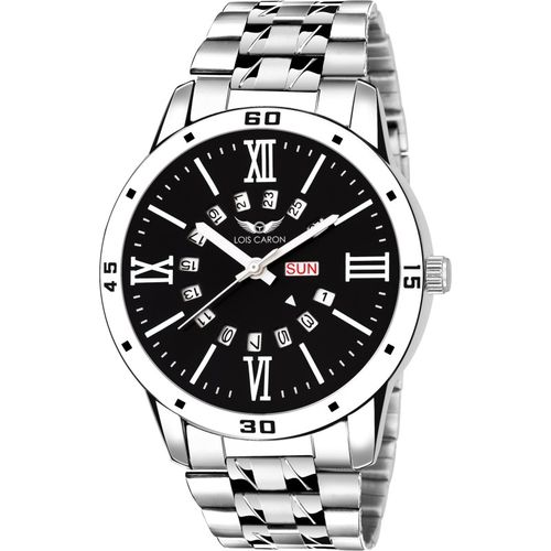 Lois Caron LCS-8112 DAY & DATE FUNCTIONING Analog Watch - For Men