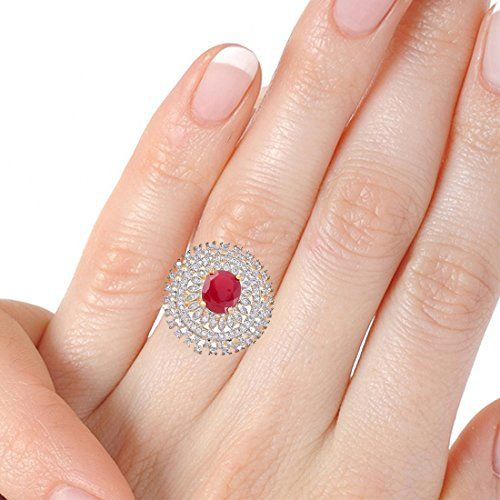 Darsha Collections American Stone Finger Ring for Women