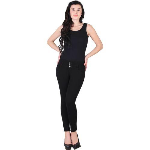 A-Okay Slim Women Black Jeans
