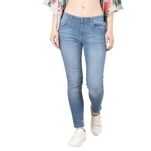 Broadstar Skinny Women Blue Jeans