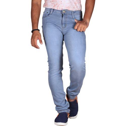 Lzard Regular Men's Light Blue Jeans
