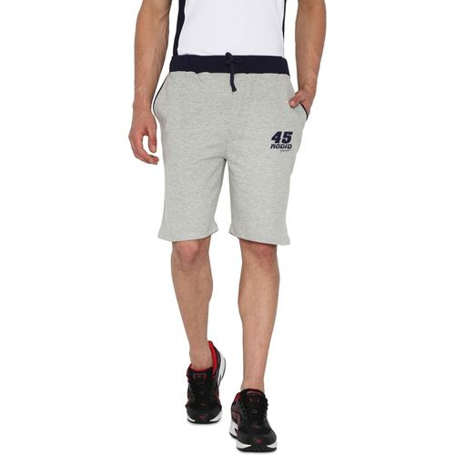 Rodid Solid Men Grey Sports Shorts